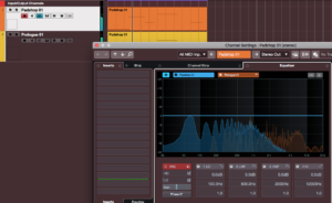 Spectral Comparison EQ i Cubase 10.5