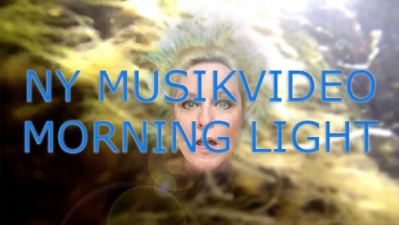 Bild från ny musikvideo Morning Light