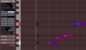 Hitta skala med Chord Editing