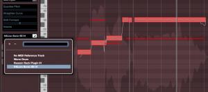 Följ MIDI-referens i VariAudio