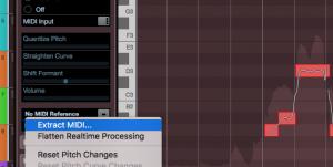 Gör om Audio till MIDI